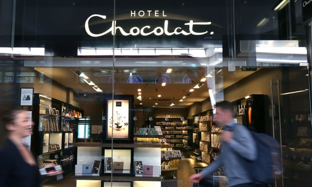 Hotel Chocolat boosts sales as fans feed craving online