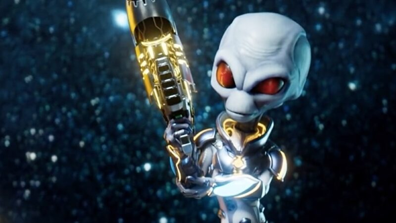 It looks like THQ Nordic is teasing a Destroy All Humans! 2 remaster